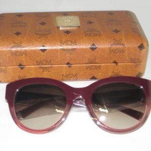 MCM Women's Cat Eye Bordeaux-Ant Rose Sunglasses